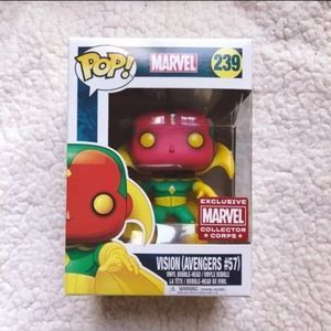 Marvel Vision Avengers Funko POP #57 Home Decor